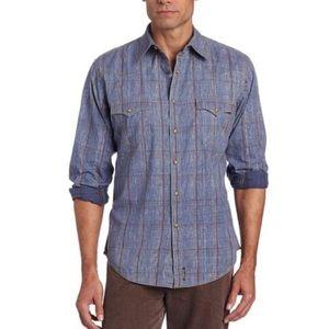 WRANGLER Retro Botton-Up Collared Shirt